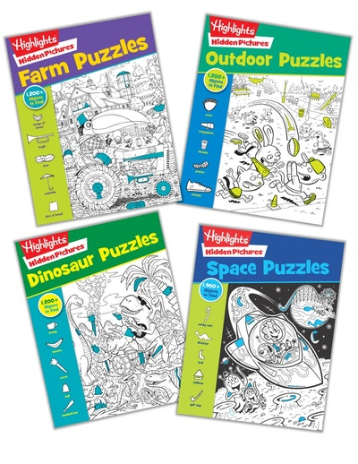 Hidden Pictures Galore (ages 6-up) Bundle