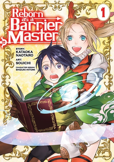 Reborn as a Barrier Master (Manga) Vol. 1