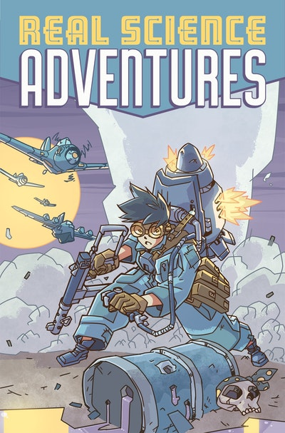 Atomic Robo Presents Real Science Adventures The Flying She-Devils In Raid Onmarauder Island