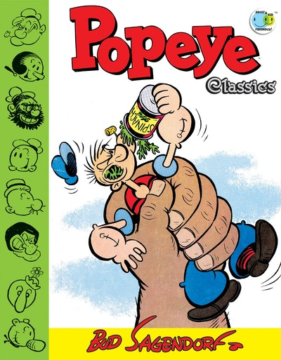 Popeye Classics, Vol. 11 The Giant And More