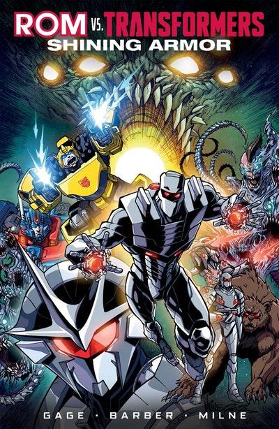 Rom Vs The Transformers Shining Armor