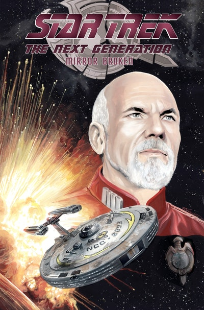 Star Trek The Next Generation Mirror Broken