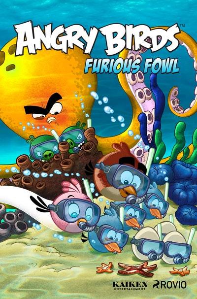 Angry Birds Comics Furious Fowl