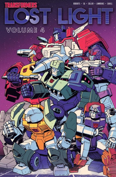 Transformers Lost Light, Vol. 4