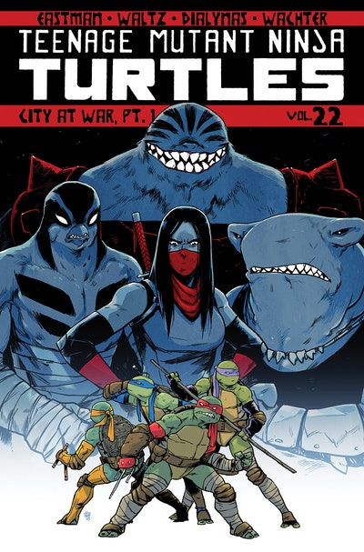Teenage Mutant Ninja Turtles Volume 22