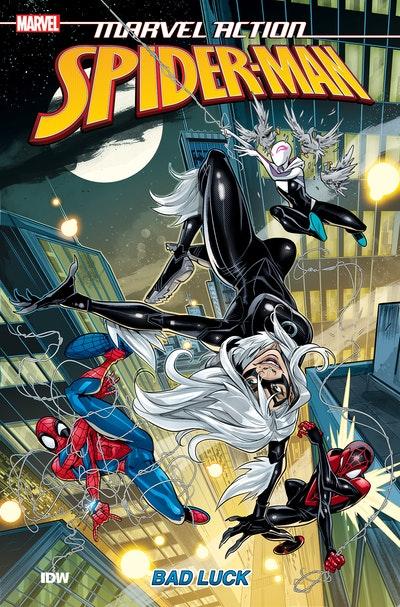 Marvel Action Spider-Man Bad Luck (Book Three)