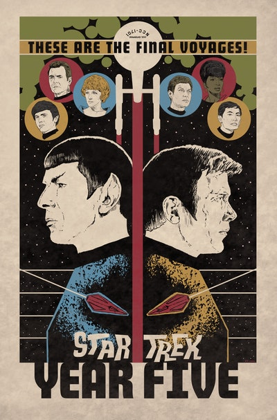 Star Trek Year Five - Odyssey's End (Book 1)