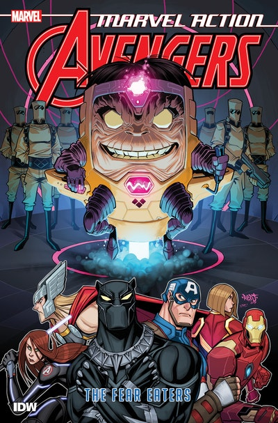 Marvel Action Avengers The Fear Eaters (Book Three)