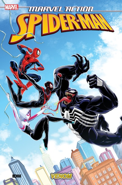 Marvel Action Spider-Man Venom (Book Four)