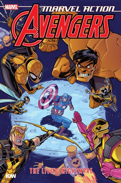 Marvel Action Avengers The Living Nightmare (Book Four)