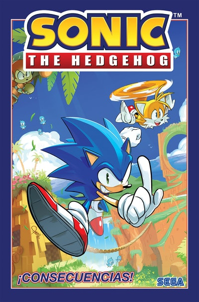 Sonic The Hedgehog, Vol. 1: iConsecuencias! (Sonic The Hedgehog, Vol 1 Fallout! Spanish Edition)