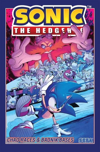 Sonic The Hedgehog, Vol. 9
