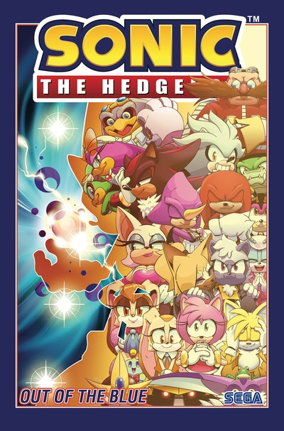 Sonic The Hedgehog, Vol. 8: Out of the Blue