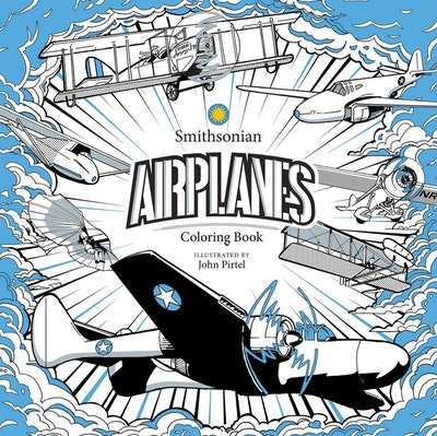 Airplanes: A Smithsonian Coloring Book