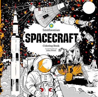 Spacecraft: A Smithsonian Coloring Book
