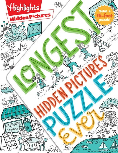 Longest Hidden Pictures® Puzzle Ever