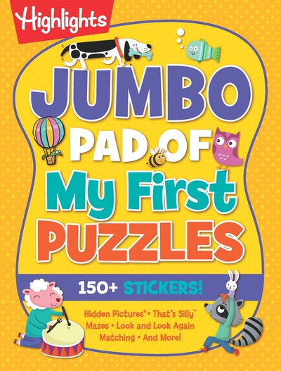 Jumbo Pad of My First Puzzles