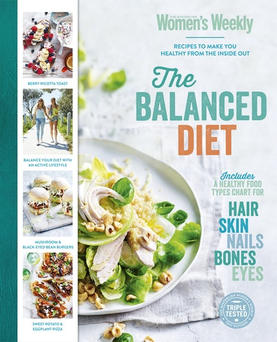 The balanced diet by the australian womens weekly penguin books the balanced diet by the australian womens weekly penguin books australia forumfinder Images