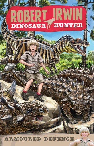 Robert Irwin Dinosaur Hunter 3: Armoured Defence