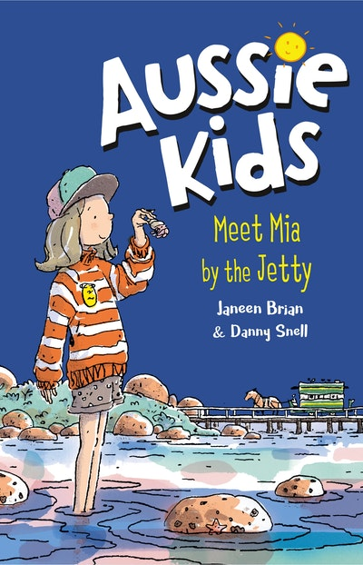 Aussie Kids: Meet Mia by the Jetty
