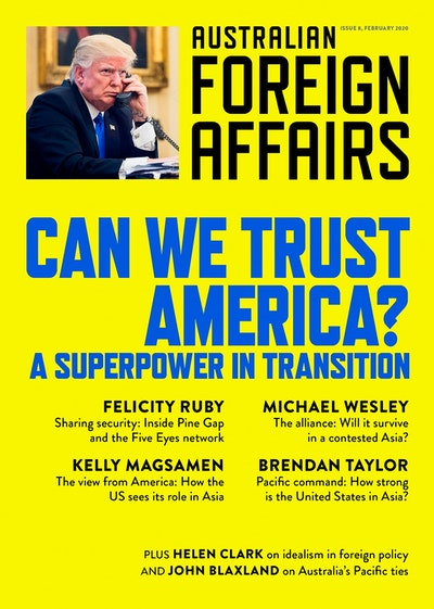 Can We Trust America?: A Superpower in Transition: Australian Foreign Affairs 8