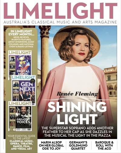Limelight August 2020: Australia's classical music and arts magazine