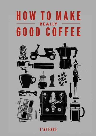 How To Make A Real Book Cover : How to make really good coffee rev ed by caffe l affare
