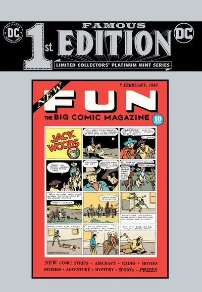 New Fun Comics #1 Anniversary Edition