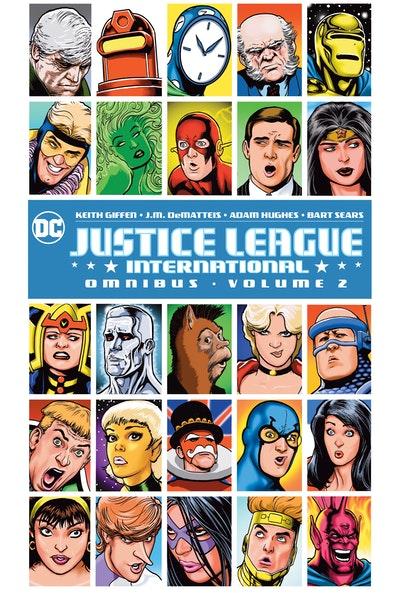 Justice League International Omnibus Vol. 2