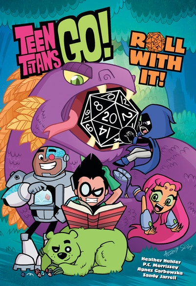 Teen Titans Go! Roll With It Book 1