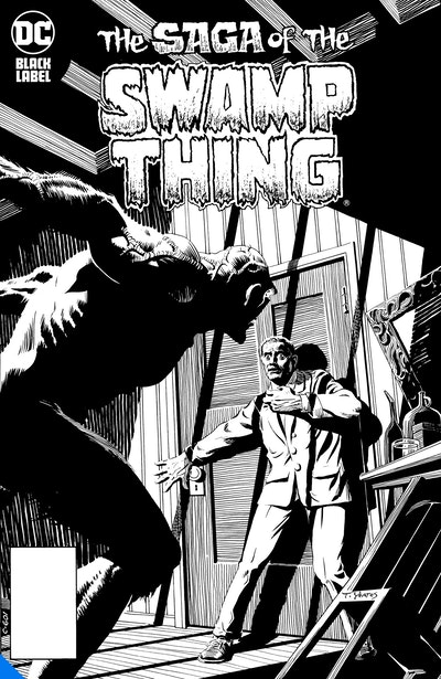 Swamp Thing Noir
