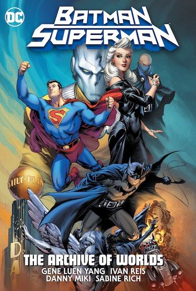 Batman/Superman The Archive Of Worlds