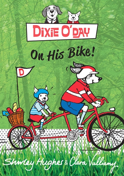 Dixie O'Day on his Bike