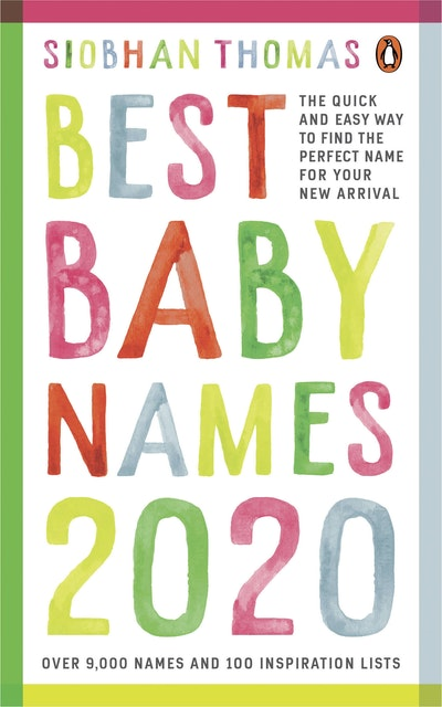 Best Baby Books 2020 Best Baby Names 2020 by Siobhan Thomas   Penguin Books New Zealand