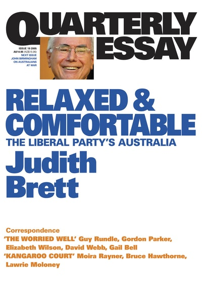 liberal party essay