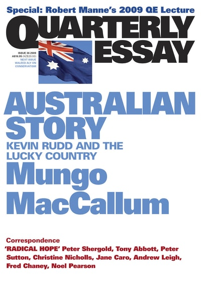 australian quarterly essay