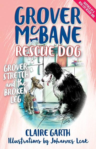 Grover McBane Rescue Dog: Grover, Stretch and the Broken Leg (Book 4)
