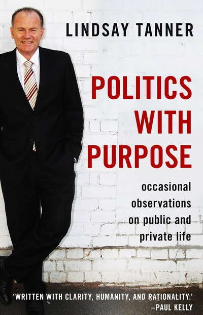 """politics and private life Start by marking """"politics with purpose: occasional observations on public and private life"""" as want to read."""