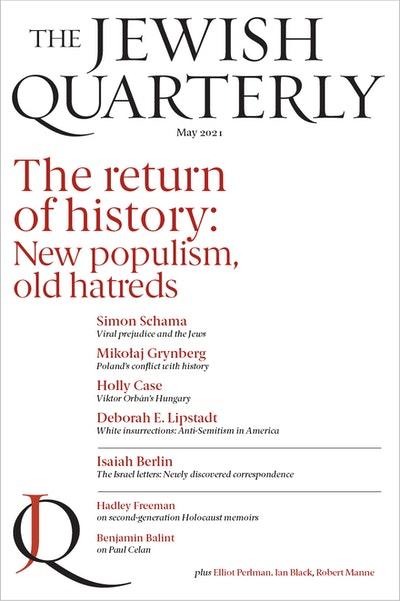 The Return of History; Jewish Quarterly 244