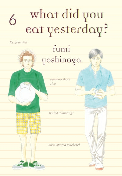 What Did You Eat Yesterday, Volume 6