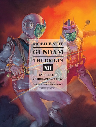 Mobile Suit Gundam The Origin, Volume 12
