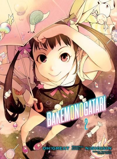 BAKEMONOGATARI (manga), volume 2