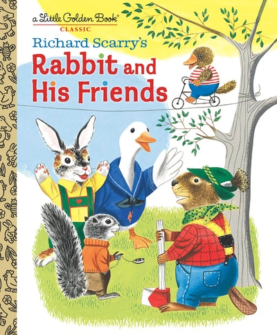 LGB Richard Scarry's Rabbit and His Friends