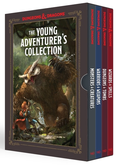 The Young Adventurer's Collection [Dungeons & Dragons 4-Book Boxed Set]