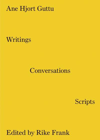 Writings, Conversations, Scripts