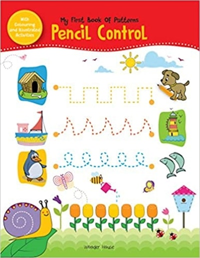 My First Book of Patterns Pencil Control
