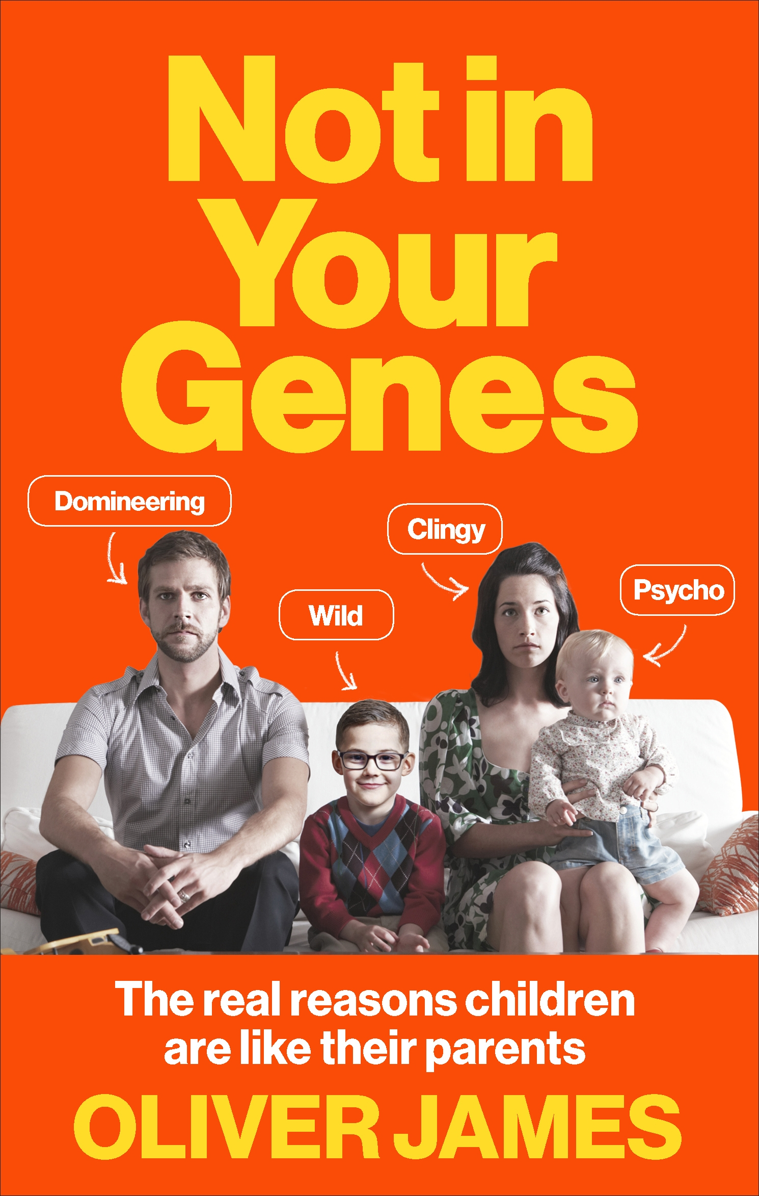 Not in your genes by oliver james penguin books australia not in your genes fandeluxe Choice Image