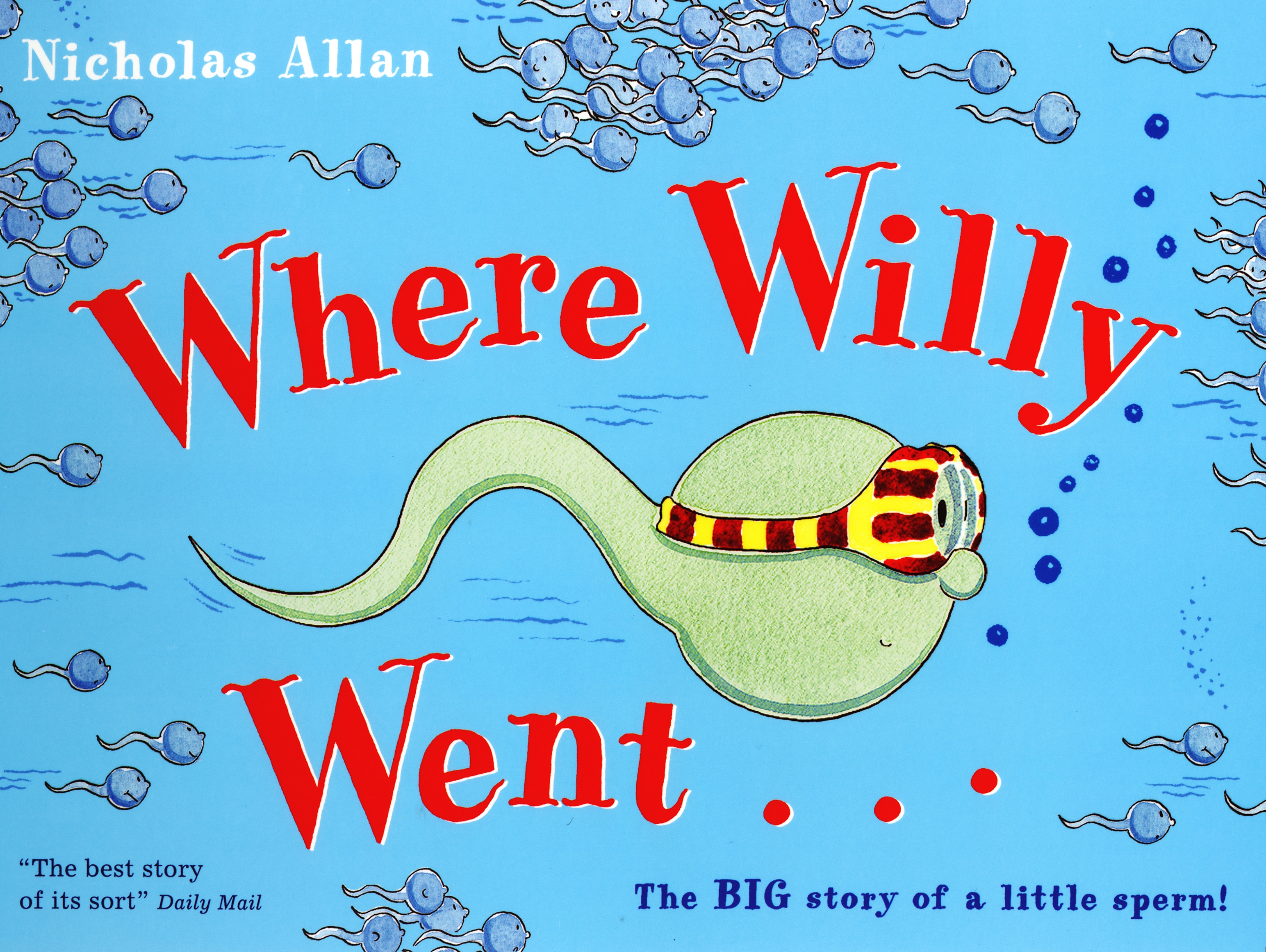 Where Willy Went by Nicholas Allan     Penguin    Books Australia