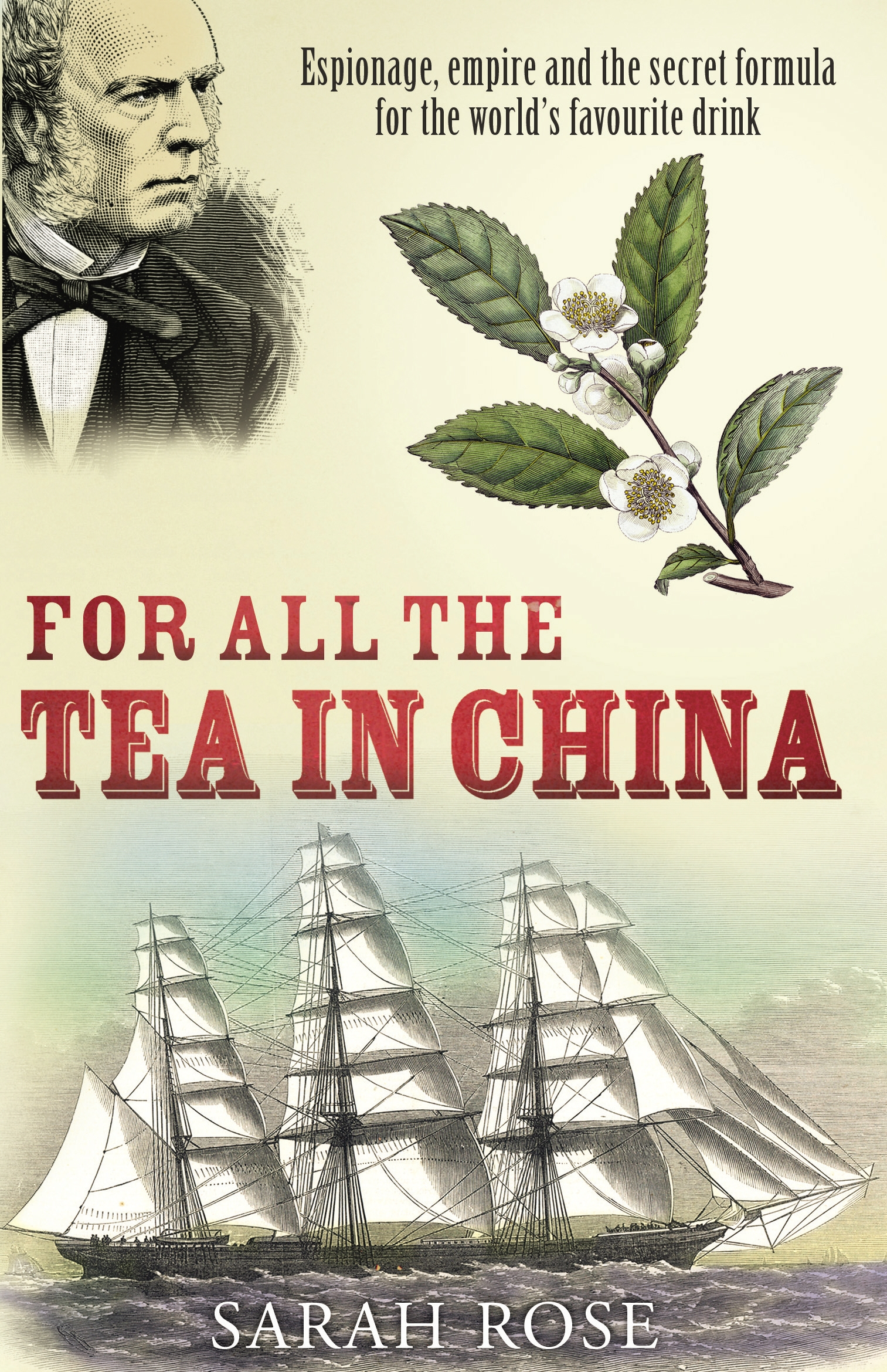 Penguin Book Cover Tea Towels ~ For all the tea in china by sarah rose penguin books