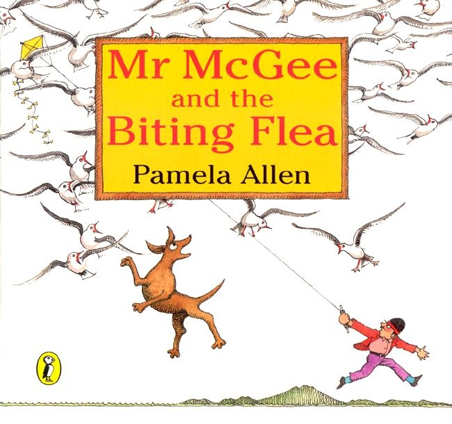 mr mcgee and the biting flea book